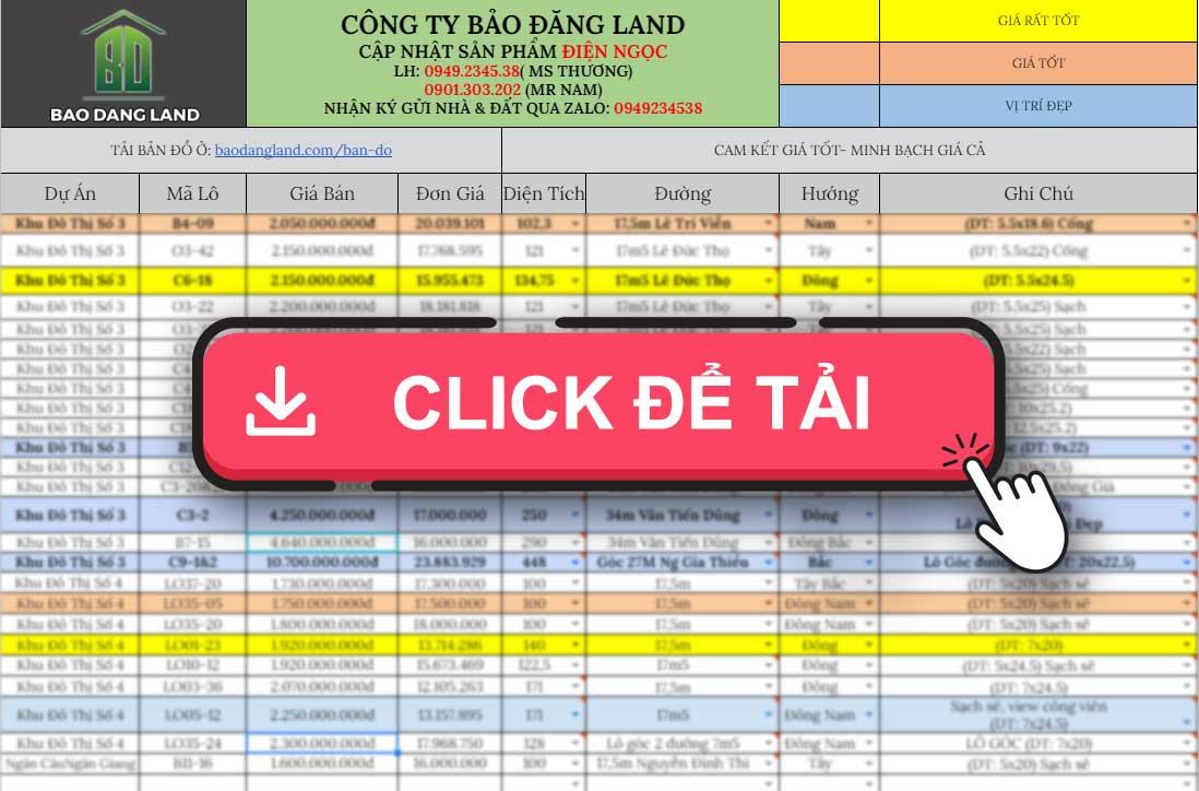 Bang Gia Dien Ngoc Bdl