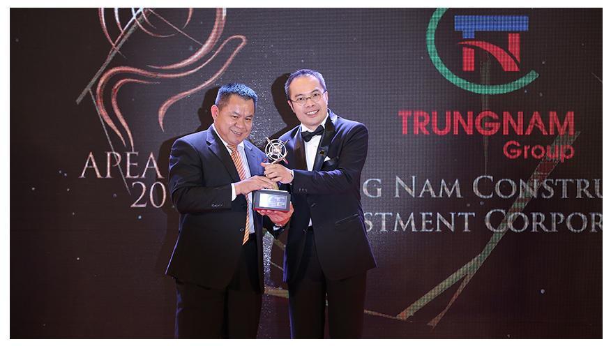 Trungnam Group Giai Thuong Doanh Nghiep Xuat Sac Chau A 2018