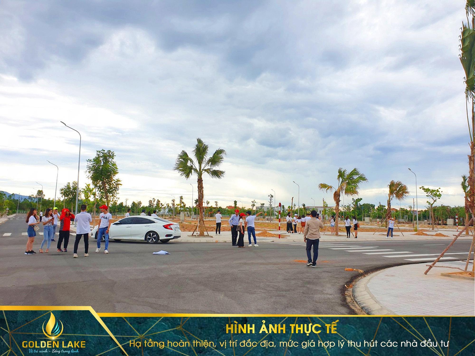 Khu Do Thi Golden Lake Quang Binh Ha Tang Thuc Te