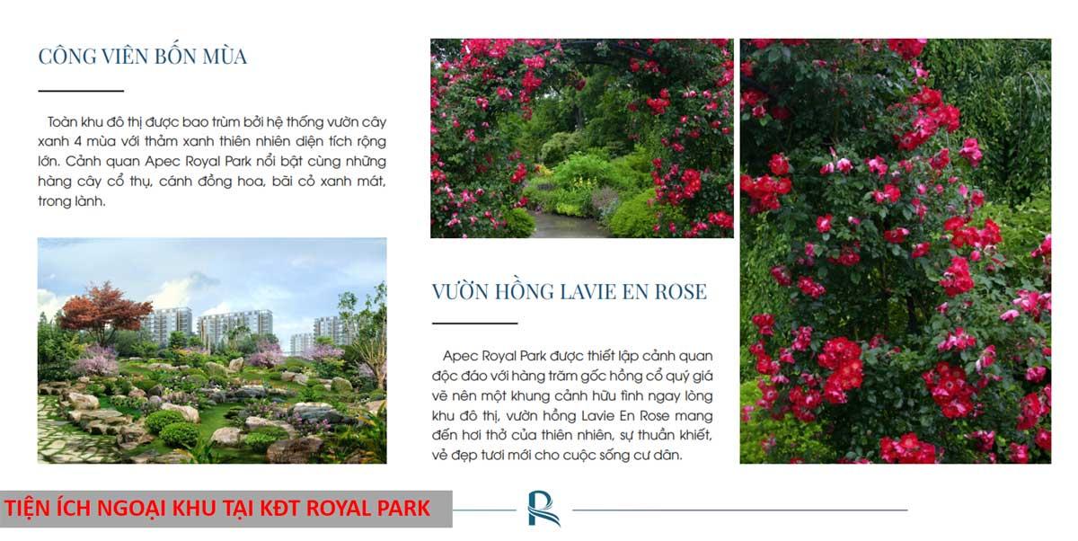 Tien Ich Ngoai Khu Tai Khu Do Thi Royal Park
