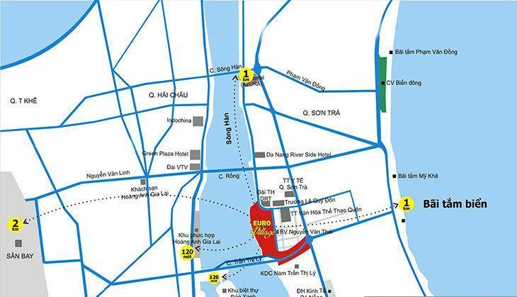 vị trí của Euro Village