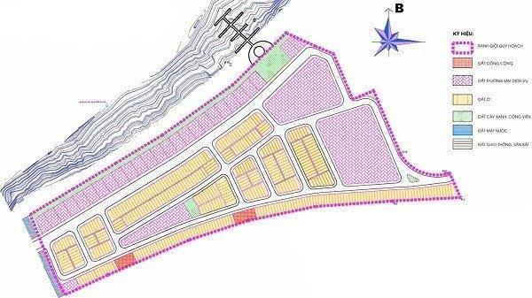 mặt bằng quy hoạch dự án Nam Hội An City