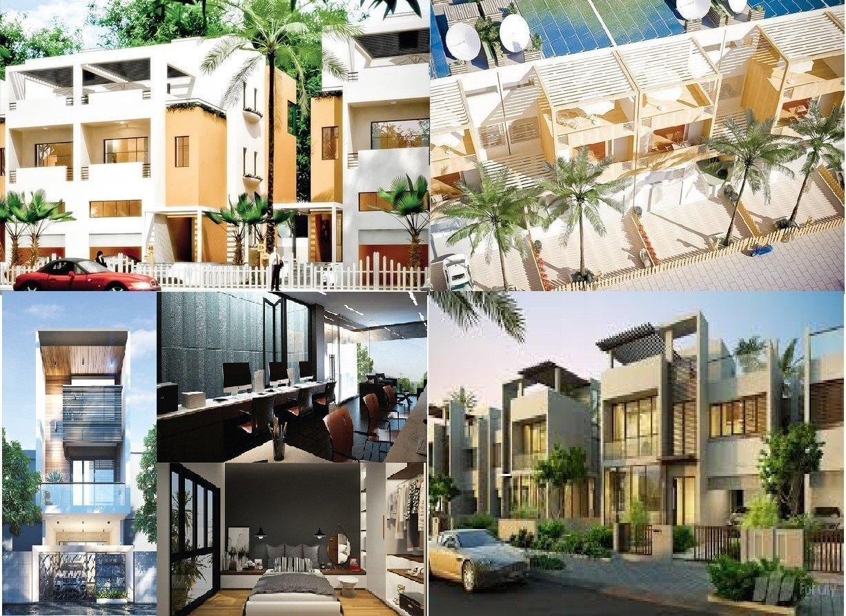 mẫu thiết kế nhà của khu đô thị FPT