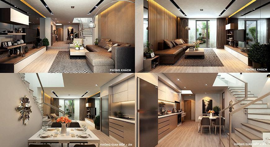 thiết kế nhà ở của Dự án Đà Nẵng Pearl