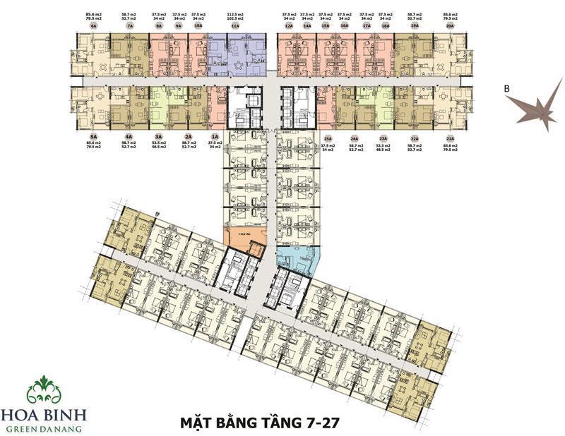 Mat Bang Can Ho Condotel Green Da Nang