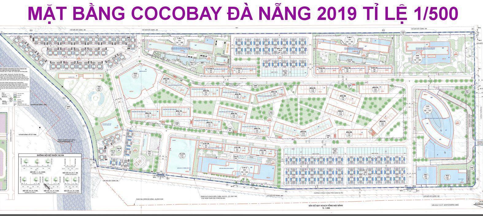 Sơ Đồ Mặt Bằng Cocobay Da Nang 2019